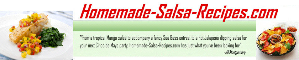Salsa Recipes Made from Home